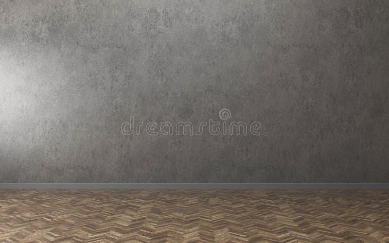 L'espace dans la pièce vide de maison image stock