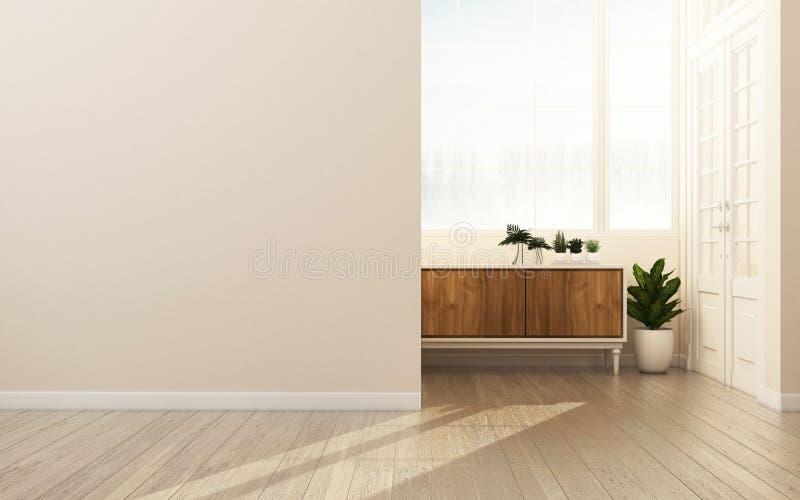 l'espace dans le style moderne de maison illustration libre de droits