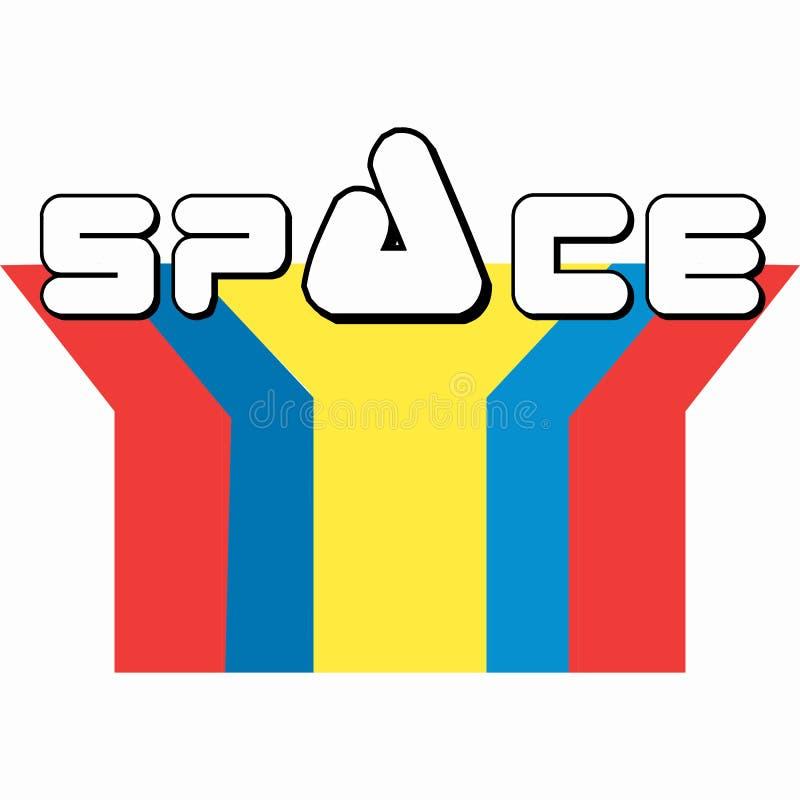 L'espace de la terre illustration libre de droits