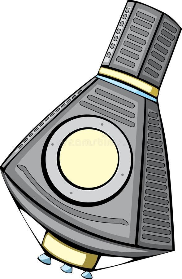 l'espace de mercure de capsule illustration libre de droits