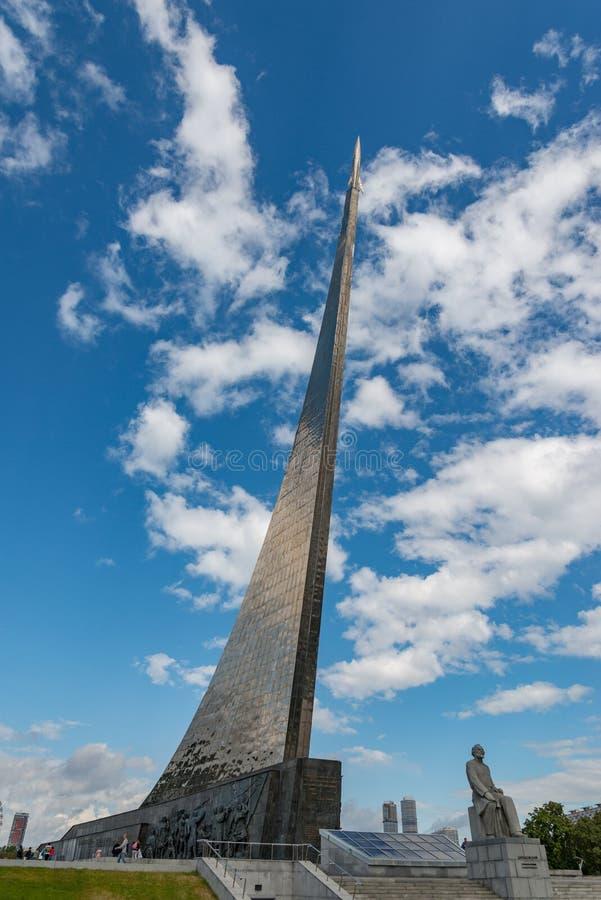 l'espace de monument de conquérants à photos libres de droits