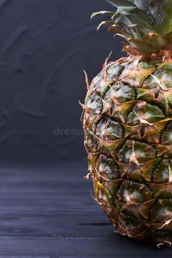 L'espace juteux frais d'ananas et de copie images libres de droits