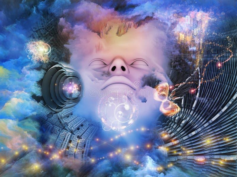 L'espace rêveur illustration libre de droits