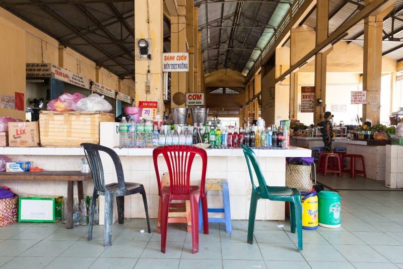 L'espace restauration vietnamien de style image libre de droits