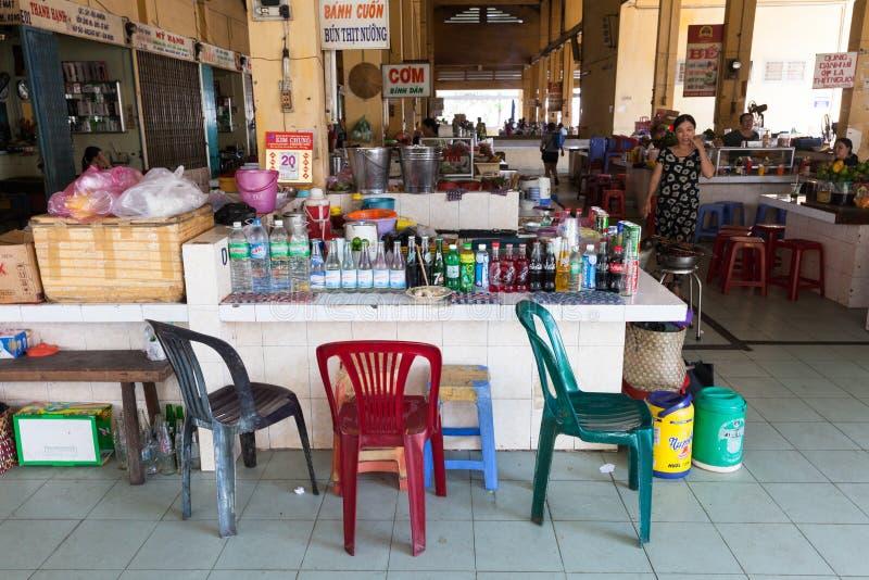 L'espace restauration vietnamien de style photographie stock