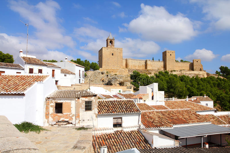l'Espagne - Antequera image stock