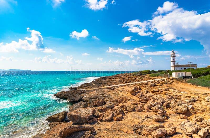 L'Espagne Majorca Cap de Ses Salines image stock