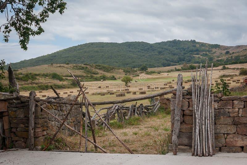 l'espagne Paysage de la montagne de Palencia Palencia photo libre de droits
