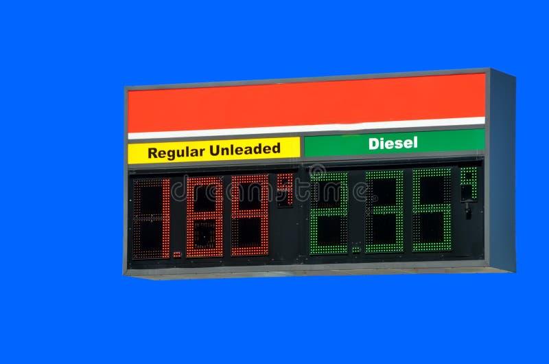 L'essence évalue le signe photo libre de droits