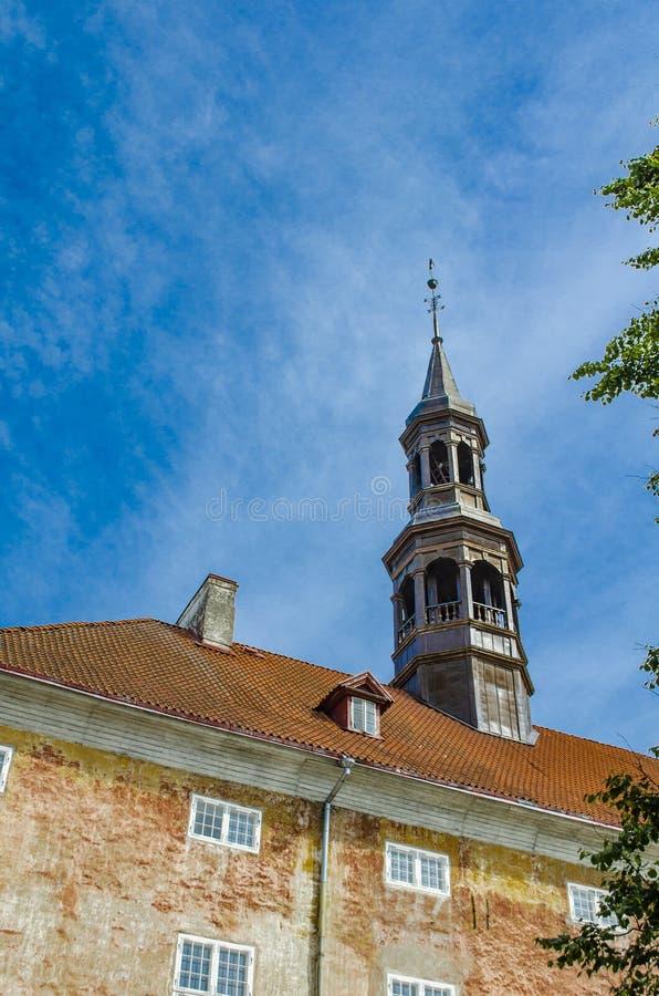 L'ESTONIE, LE 19 JUIN 2019 H?tel de ville de Narva Vue de images stock