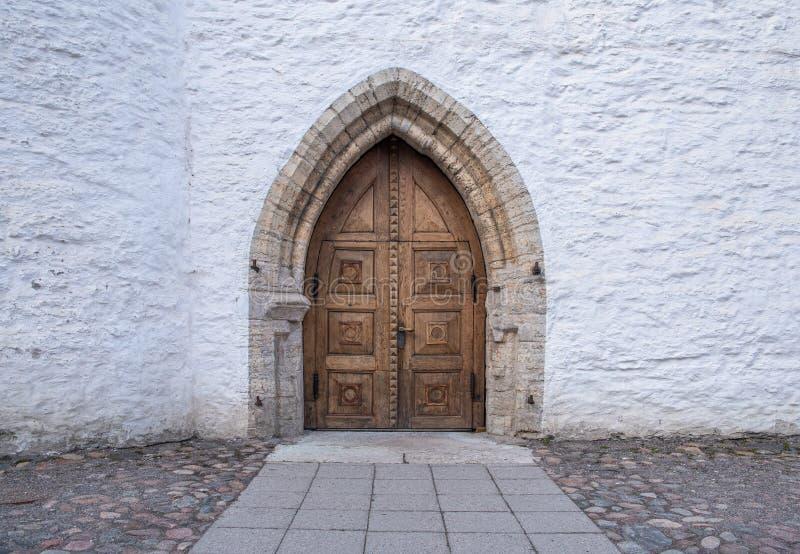 L'Estonie Tallinn Toompea, vieux bâtiment de ville image stock