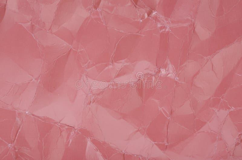 L'estratto ha colorato la struttura di carta sgualcita, fondo decorativo fotografie stock