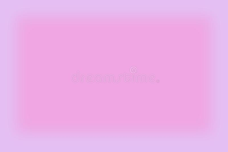 L'estratto ha offuscato il rosa e la porpora ha colorato il fondo con un'insegna liscia dell'opuscolo della carta da parati di pe royalty illustrazione gratis
