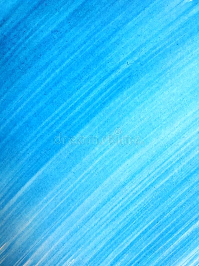 L'estratto ha spazzolato il ciano fondo dipinto a mano, illustrazione vettoriale