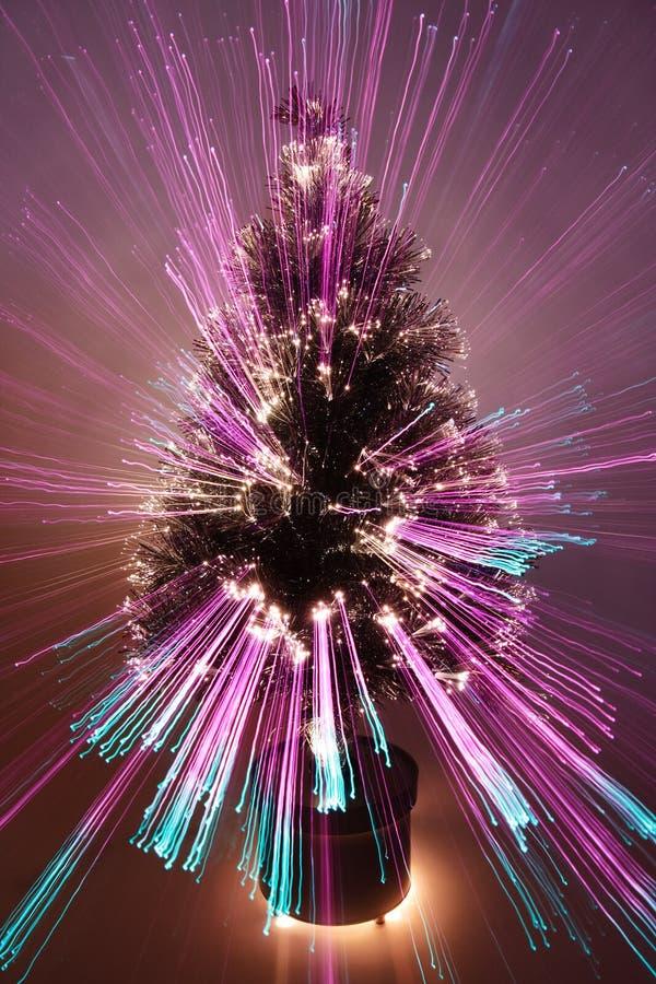 L'estratto ha zumato albero di Natale immagini stock