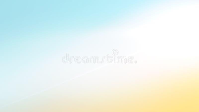L'estratto pastello del tramonto di pendenza d'annata nuvolosa morbida di colore ha offuscato il bello fondo nel colore dolce royalty illustrazione gratis