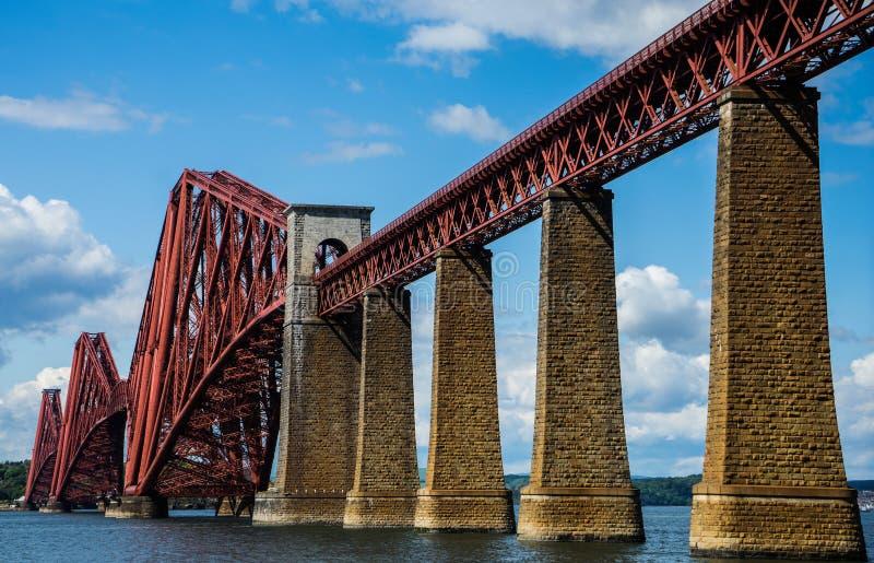 L'estuaire d'en avant jettent un pont sur photos stock