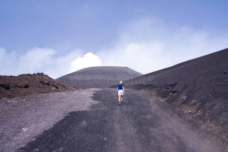 l'Etna photos stock
