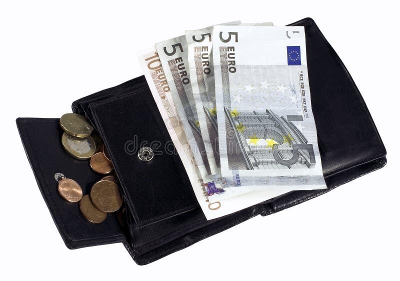 L'euro fattura il incl. centesimi fotografia stock