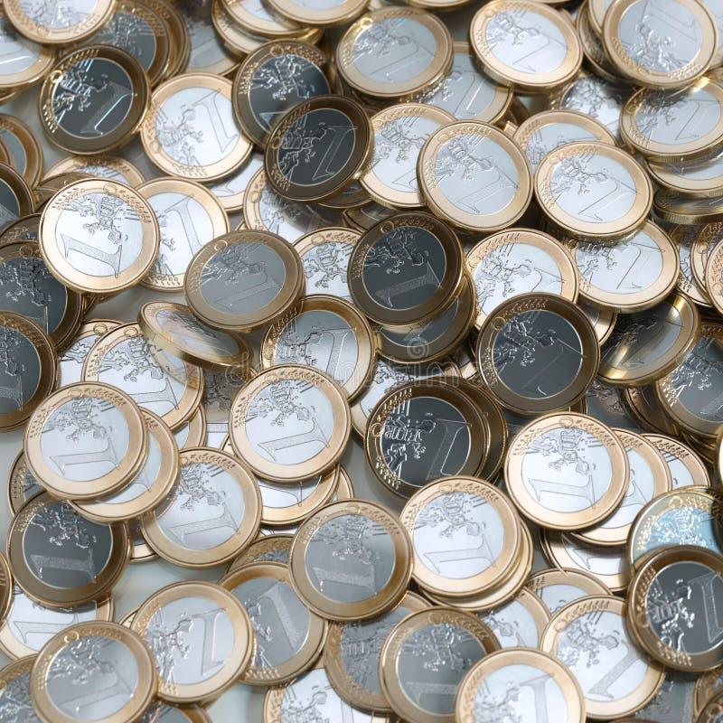 L'euro invente le fond (l'argent conceptuel) illustration libre de droits