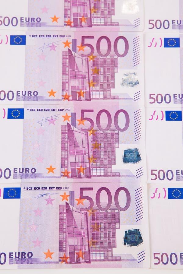l'euro note la réflexion photos libres de droits