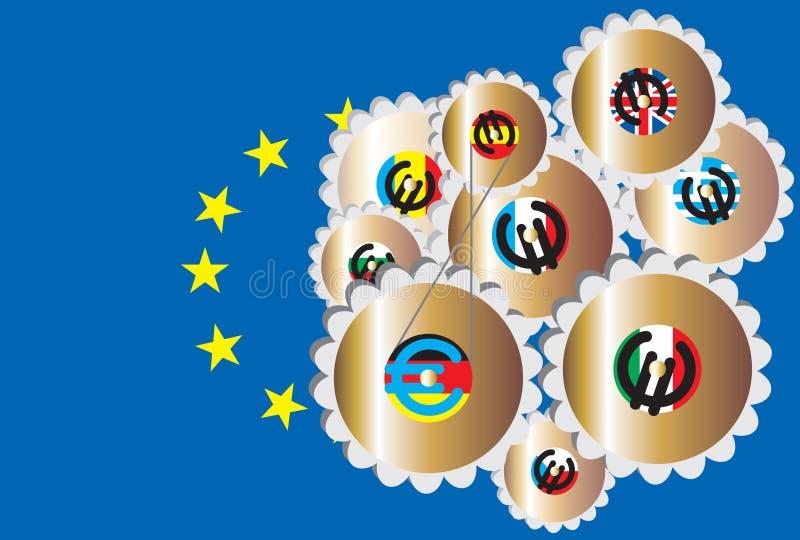 L'Europe unie photo stock