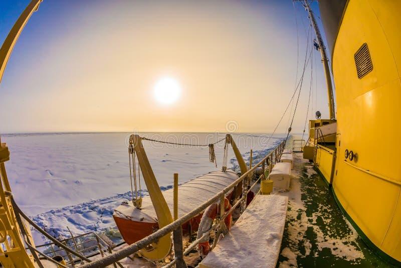 L'excursion vers l'Arctique images stock