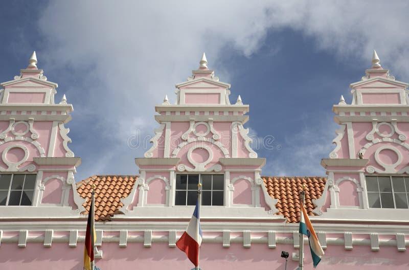 L'exemple du Néerlandais type conçoivent l'architecture images libres de droits