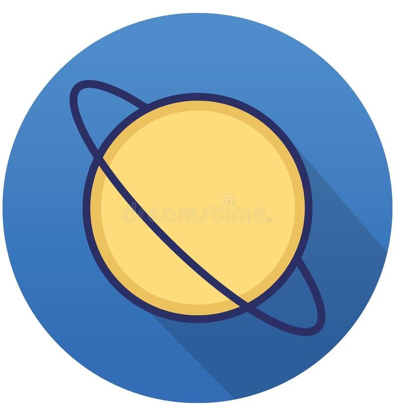 L'exploration a isolé l'icône de vecteur qui peut facilement modifier ou éditer illustration libre de droits