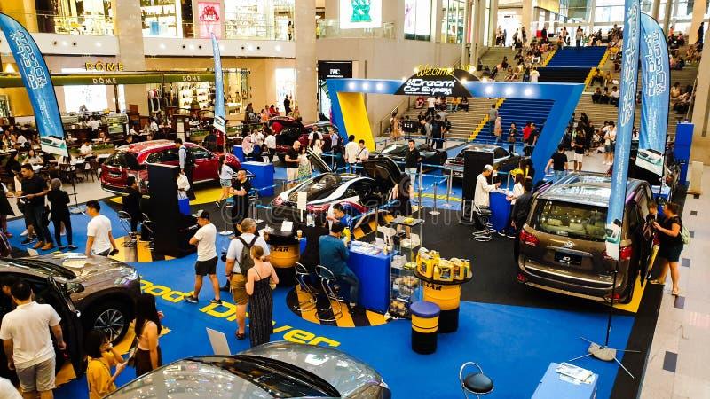 L'Expo dell'automobile di sogno, mostra automobilistica della Malesia tenuta in padiglione Kuala Lumpur a Bukit Bintang immagine stock