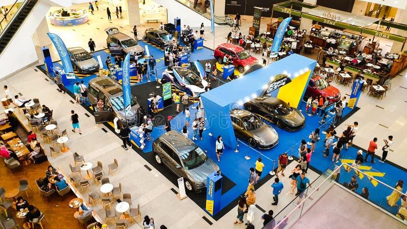 L'Expo dell'automobile di sogno, mostra automobilistica della Malesia tenuta in padiglione Kuala Lumpur a Bukit Bintang fotografia stock libera da diritti