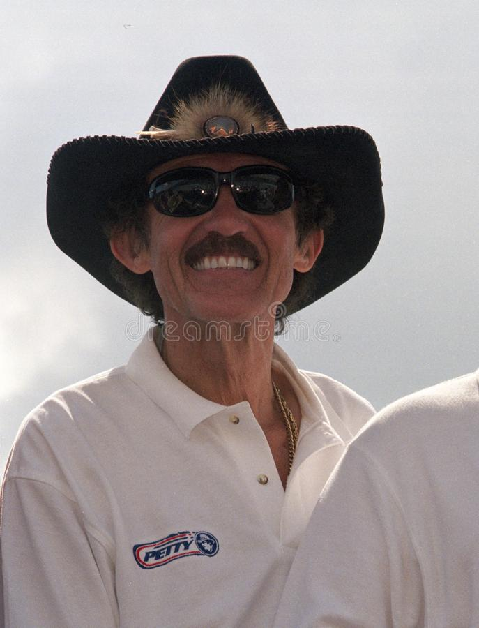 L?gende Richard Petty de NASCAR images libres de droits