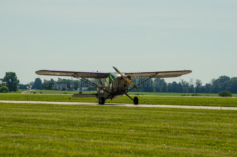 L2 Grasshopper US Army Aircraft royalty free stock photography