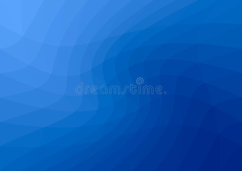 L?gt poly m?rkt - bl? abstrakt bakgrund Geometrisk triangulering Texturerad mall vektor illustrationer