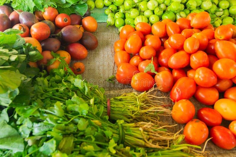 L?gumes verts, Sikkim, Inde image libre de droits