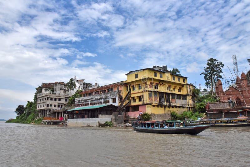 L'Guwahati-India immagine stock libera da diritti