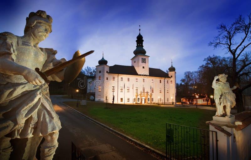 L'hôtel de château de Trest photos libres de droits