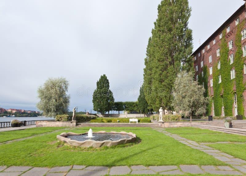 L'hôtel de ville célèbre de Stockholm photographie stock