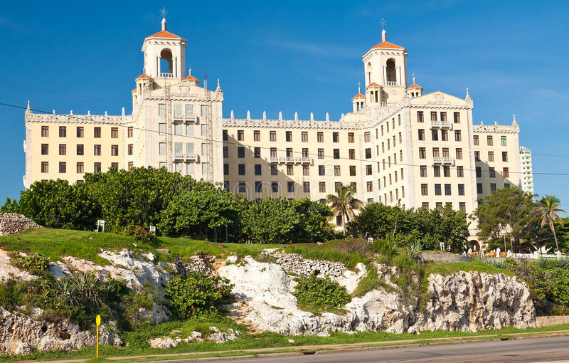 L'hôtel Nacional à La Havane photo stock