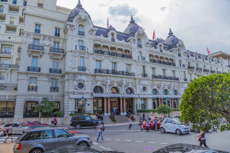L'hôtel De Paris photographie stock libre de droits