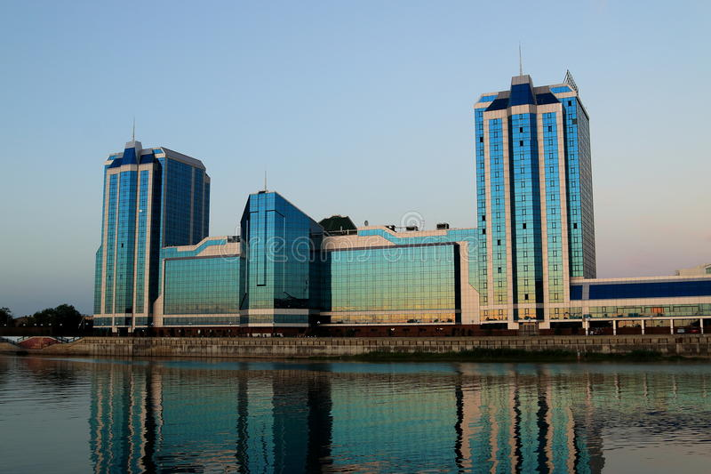 L'hôtel grand, Astrakan photographie stock