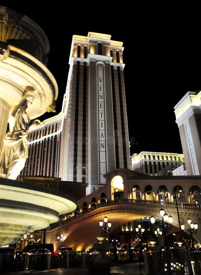 L'hôtel vénitien photos stock