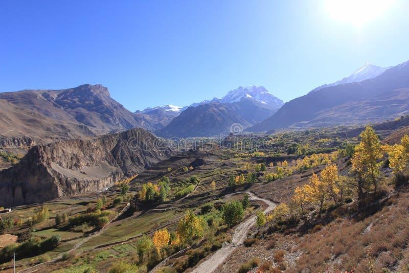 L'Himalaya du Népal images stock