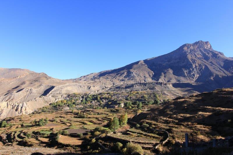 L'Himalaya du Népal photographie stock libre de droits