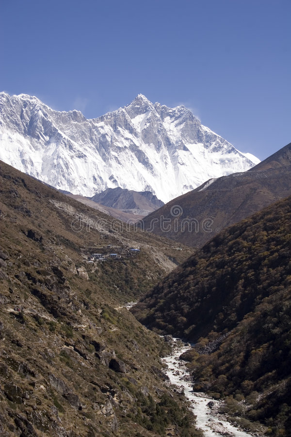 L'Himalaya - Nepal fotografia stock libera da diritti