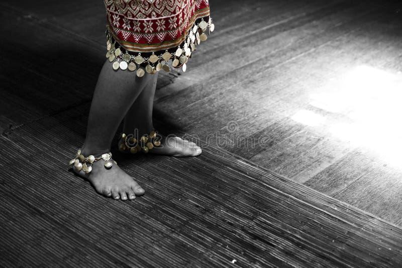 L'histoire d'un Iban Girl photo stock