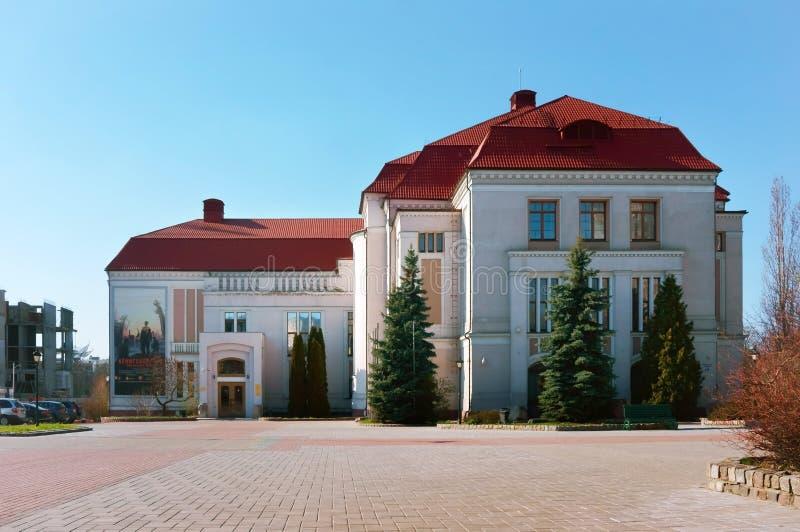 L'historique de Kaliningrad et le Musée d'Art régionaux, musée de l'histoire locale image stock