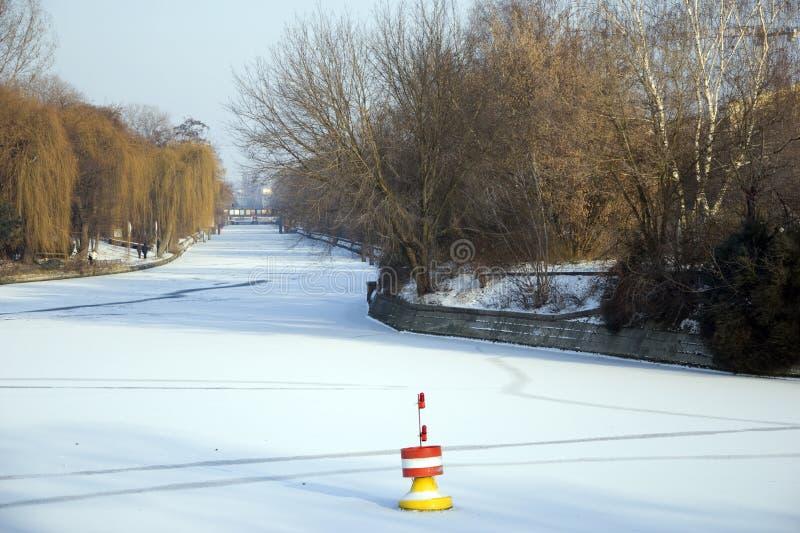 L'hiver à Berlin photo libre de droits