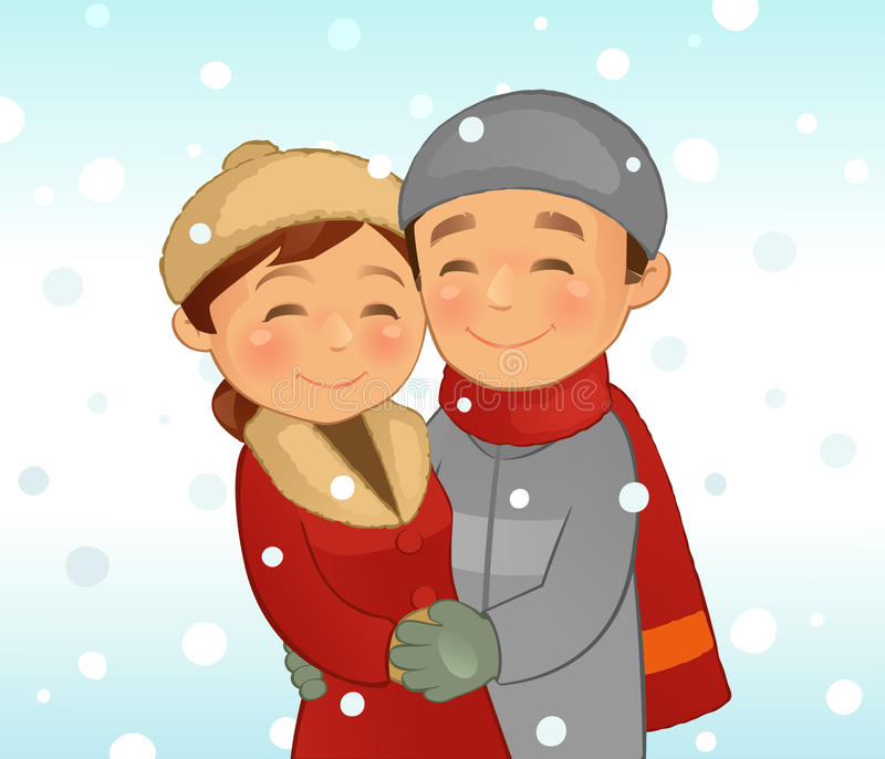 L'hiver illustration libre de droits