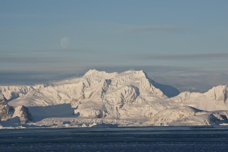 L'hiver Antarctique. images libres de droits